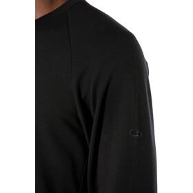 Icebreaker Momentum Koszulka z długim rękawem Mężczyźni, black